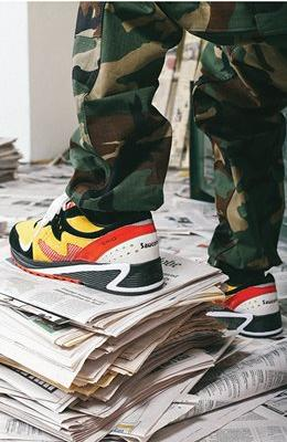 Exclusive Saucony x Bodega 'Classifieds'. Available on 11/10/17.