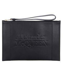 ALEXANDER MCQUEEN SIGNATURE 6330631X3H3 WRISTLETS HANDBAG