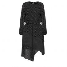 DKNY L/S DRESS W/ LAYERED SKIRT P9JB8COH