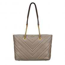 DKNY VIVIAN -  MEDIUM TOTE - CHEVRON QUILTED LAMB R94ABF95 TOTE