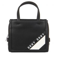 DKNY BOND - SMALL SATCHEL - EMBOSSED PEBBLE PU R94DZF34 SATCHELS