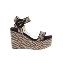 JIMMY CHOO ABIGAIL 100 Two Piece Sandal ABIGAIL 100 WIB ΣΑΝΔΑΛΙΑ