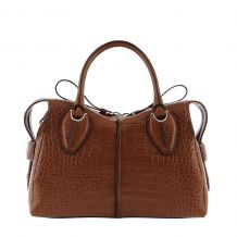 TOD'S ANY BAULETTO ZIP PICCOLO XBWANYH0200MKC TOTE