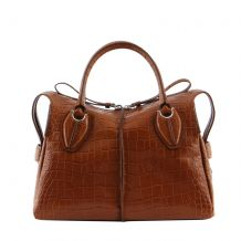 TOD'S ANY BAULETTO ZIP MEDIO XBWANYH0300MKC TOTE