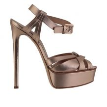 CASADEI LADIES KID LEATHER SANDALS 1L676K1401FLAS970