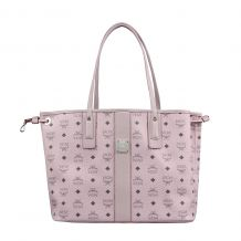 MCM ΤΣΑΝΤΑ SHOPPER LIZ RVSB MED POWDER PINK VIS MWP7AVI22QH001 SHOPPER BAG