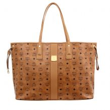 MCM SHOPPER PROJECT MWPAAVI02CO001 SHOULDER BAG