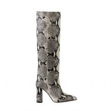 PARIS TEXAS SNAKE PRINT TALL BOOT PX120P SNAKE PRINT ΜΕΧΡΙ ΤΟ ΓΟΝΑΤΟ