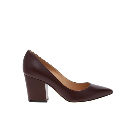 SERGIO ROSSI Leather/Covered Pump A85320 MAGN05