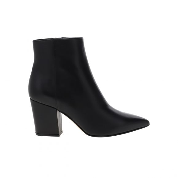 SERGIO ROSSI Half Rubber/Covered Bootie A85401 MAGN05 KONTO