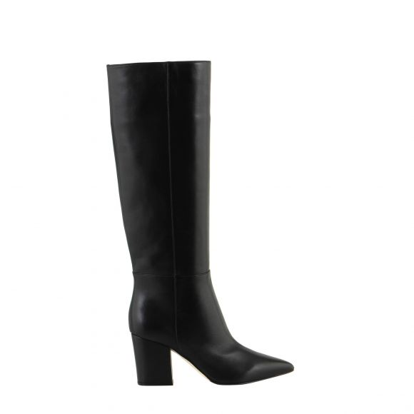 SERGIO ROSSI Half Rubber/Covered Boot A85411 MNAN07 ΜΕΧΡΙ ΤΟ ΓΟΝΑΤΟ