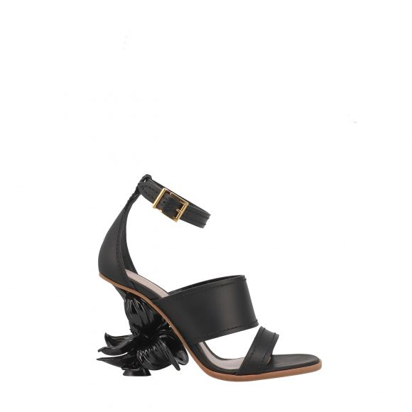 ALEXANDER MCQUEEN LEATHER UPPER AND SO 621831WHXZH