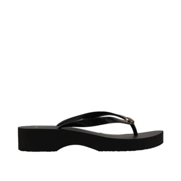 TORY BURCH CUT-OUT WEDGE FLIP FLOP 48211