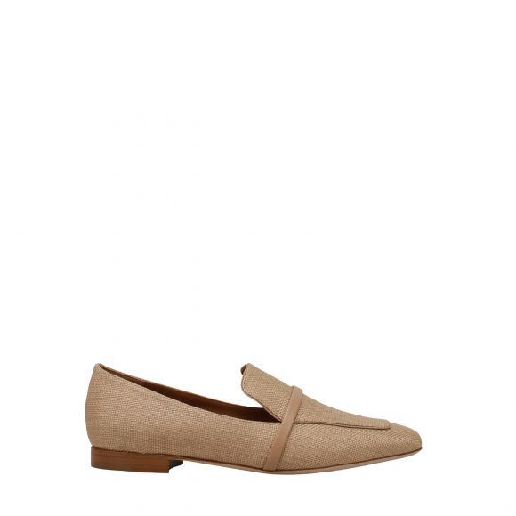 MALONE SOULIERS Closed toe flat loafer with a single strap detail JANE FLAT 15