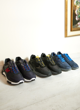 Men Focus Sneakers