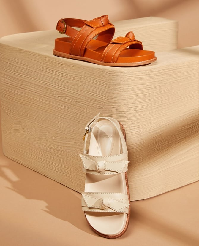 <strong>COOL CHUNKY SANDALS</strong>For street chic style with a cool sporty vibe, the footwear trend to get on your feet now.
