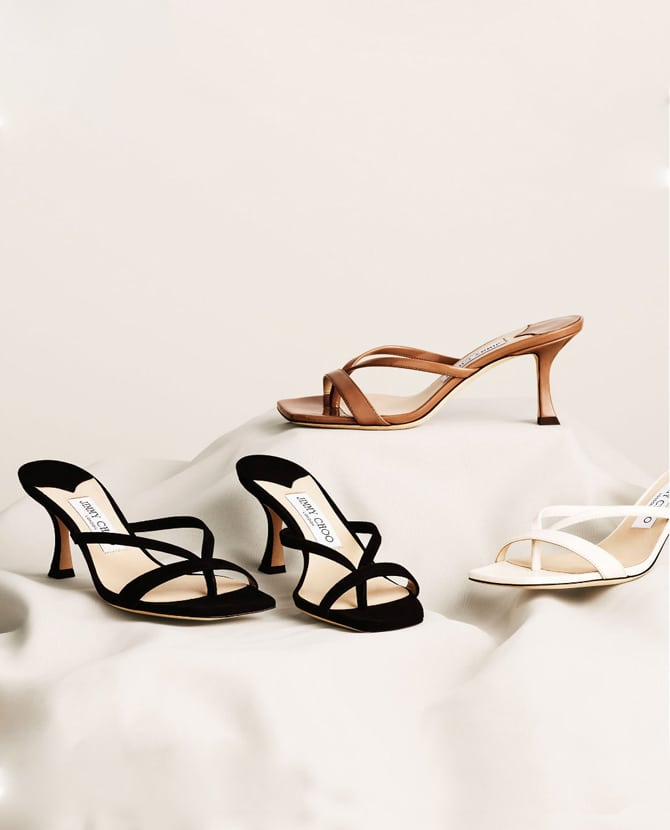 <strong> IT'S A JIMMY CHOO THING</strong>For a luxurious feeling and an uplifting style the SS21 collection will make any summer dream come true.