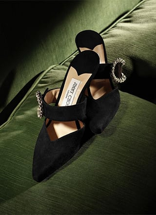 JIMMY CHOO GLAMOUR Iconic styles and high glamour vibes from the new season collection